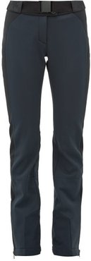 Gaia Soft-shell Ski Trousers - Womens - Navy Multi