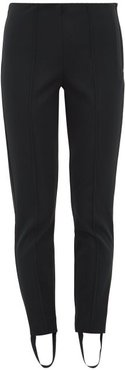 Stirrup-cuff Ski Trousers - Womens - Black Multi