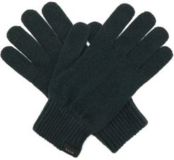 Cashmere-blend Gloves - Mens - Green
