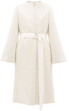Proteus Double-faced Wool-blend Coat - Womens - Cream