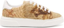 17th-century Tapestry Low-top Trainers - Womens - Beige Multi