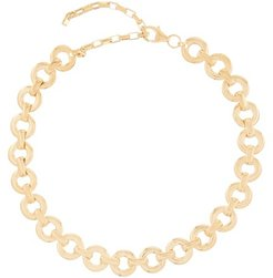 Gold-plated Sterling-silver Chain Necklace - Womens - Gold