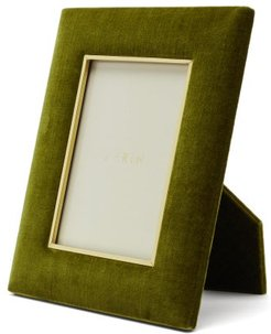 Valentina Large Velvet Photo Frame - Dark Green