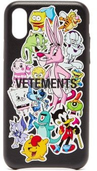 Monsters Iphone® Xs Leather Phone Case - Womens - Multi