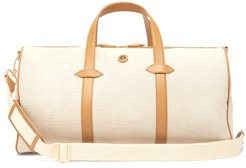 Main Line Canvas Holdall - Womens - Tan Multi