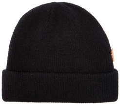 Krachel Ribbed Wool-blend Beanie Hat - Womens - Black