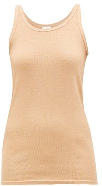 Coordinates-embroidered Tank Top - Womens - Beige