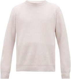 The Greatest Dub Brioche-knitted Wool Sweater - Mens - White