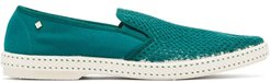 Classic 20° Canvas Loafers - Mens - Green