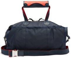 Pariscuba Leather-trimmed Holdall - Mens - Navy