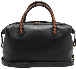 Perriand City Small Leather Shoulder Bag - Womens - Black Multi