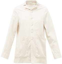 The Photographer Cotton-canvas Jacket - Womens - Ivory