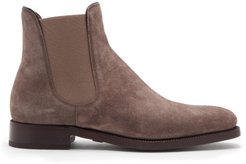 Penfield Suede Chelsea Boots - Mens - Brown