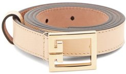 Gv3 Leather Belt - Womens - Brown