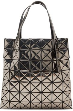Platinum Small Metallic Pvc Tote Bag - Womens - Grey