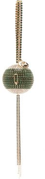 Carambola Crystal-embellished Spherical Bag - Womens - Green Multi