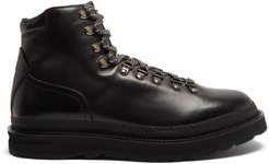 Traverse Lace-up Leather Boots - Mens - Black