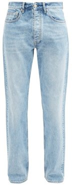 Straight-leg Denim Jeans - Mens - Blue