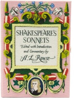 Shakespeare's Sonnets Embroidered Box Clutch - Womens - Pink Multi