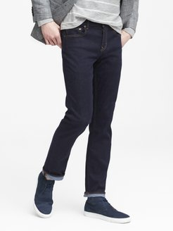 Slim Rapid Movement Denim Stay Blue Jean