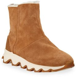 Kinetic Short Waterproof Suede Boots