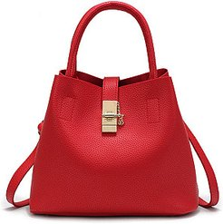 Hot Korea Stylish Faux PU Shoulder Bag stores and shops, clothes shopping near me,