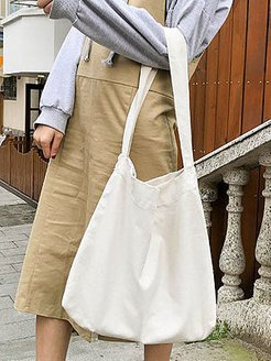 Japanese Style Plain Chic Shoulder Bags sale, clothing stores,