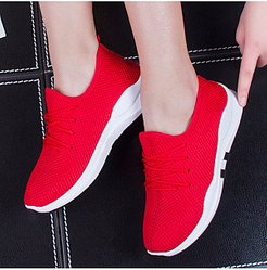 Low Heeled Criss Cross Round Toe Casual Sport Sneakers stores and shops, shop,