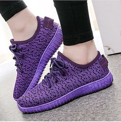Flat Mesh Criss Cross Round Toe Casual Sport Sneakers shoping, shoppers stop,