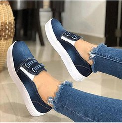 Fashion Casual Canvas Plain Sneakers online sale, stores and shops,