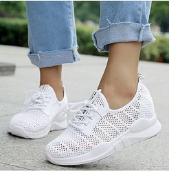 Plain Flat Criss Cross Round Toe Casual Sport Sneakers clothes shopping near me, sale,