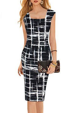 Boat Neck Print Bodycon Dress sale, online stores, Fitted Bodycon Dresses, cut out dress, white dress