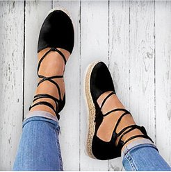Plain Flat Velvet Ankle Strap Round Toe Casual Date Flat Sandals clothes shopping near me, shoppers stop,