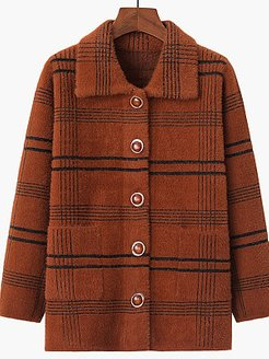 mid-length knit sweater water ripple imitation mink coat shop, shoping, womens red coat, winter jacket