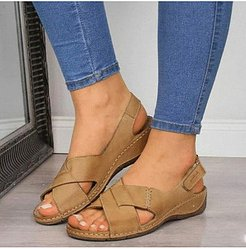 fish mouth retro sandals clothing stores, online stores,