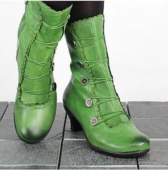 Retro shaped and low boots with large size women's boots stores and shops, shoppers stop,