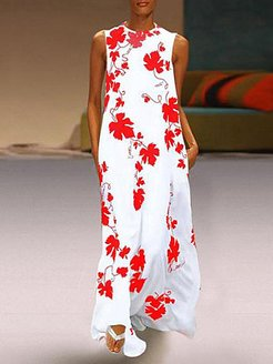 Round Neck Printed Maxi Dress shoping, shoppers stop, Floral Maxi Dresses, sequin dress, lace maxi dress