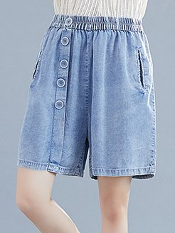 Fashionable loose plus size cotton and linen wide leg shorts clothes shopping near me, online shopping sites,