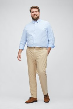 Big & Tall Tech Chinos Extended Sizes Pants Straight Fit by Bonobos - Khaki