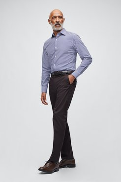Stretch Weekday Warrior Dress Pants Straight Fit by Bonobos - Tuesday Black Coffee