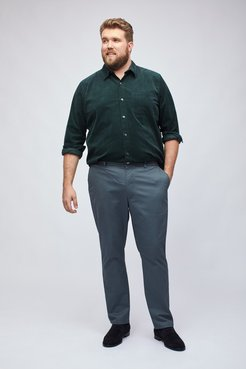 Big & Tall Stretch Washed Chinos Extended Sizes Pants Straight Fit by Bonobos - Clean Slates