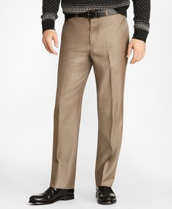 Regular Fit Stretch Wool Trousers