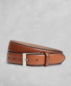 Golden Fleece Side Stitch Leather Belt