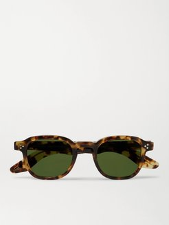 Momza Sun Square-Frame Acetate Sunglasses - Men - Tortoiseshell