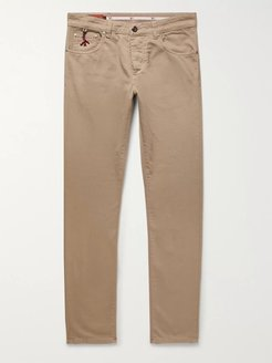 Slim-Fit Denim Jeans - Men - Neutrals