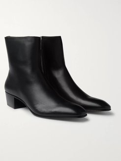 Jolly Leather Boots - Men - Black