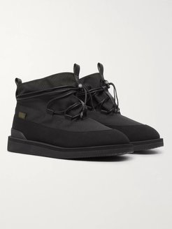 Aimé Leon Dore Hobbs Faux Shearling-Lined CORDURA and PU Boots - Men - Black