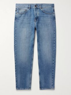 Newel Slim-Fit Tapered Denim Jeans - Men - Blue