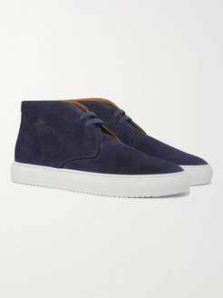 Larry Suede Desert Boots - Men - Blue