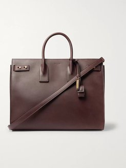 Sac De Jour Leather Weekend Bag - Men - Brown